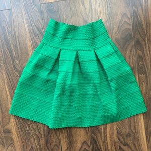 Green bubble skirt (Anthropologie, Size S)